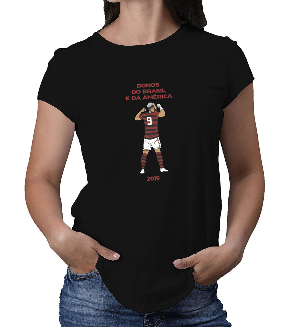 Camiseta Feminina Artilheiro da Nação