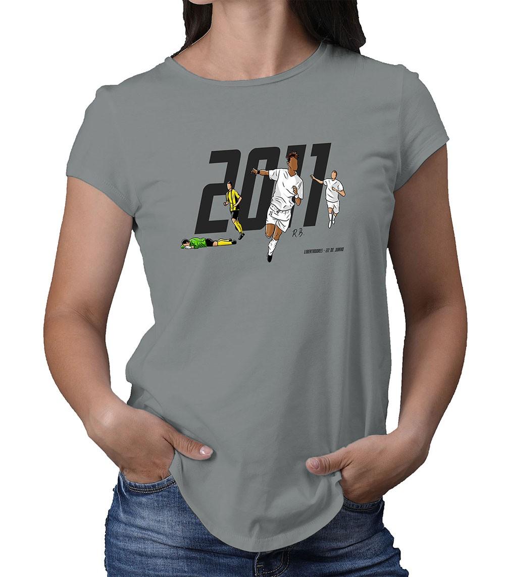 Camiseta Feminina Meninos da Vila e da América