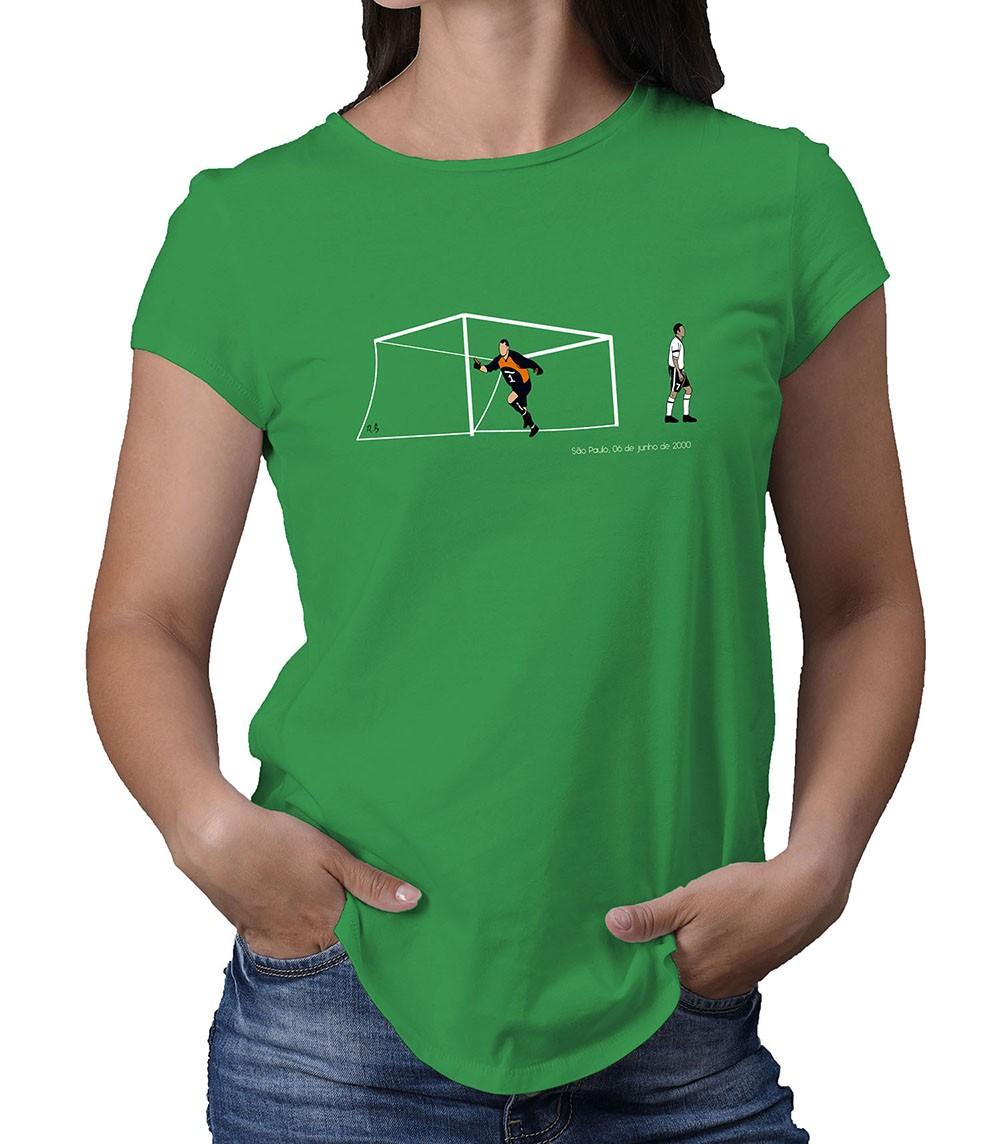 Camiseta Feminina Um novo Santo