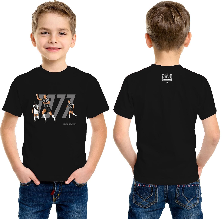 Camiseta Infantil 1977 O Fim do Jejum