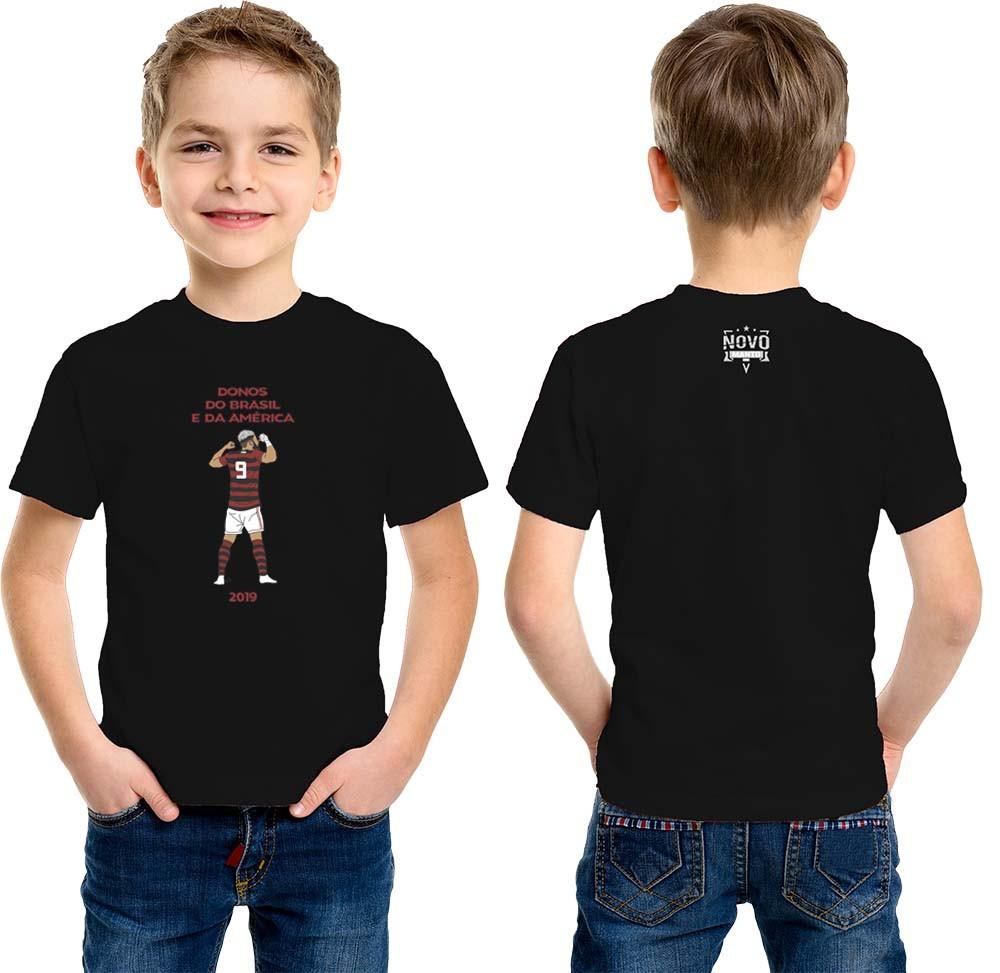 Camiseta Infantil Artilheiro da Nação