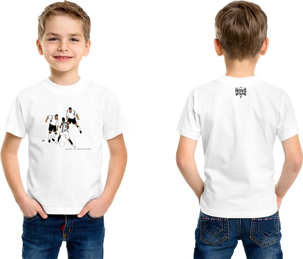 Camiseta Infantil As Oito Pedaladas