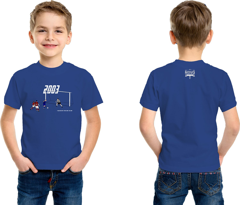 Camiseta Infantil Brilho da Tríplice Coroa