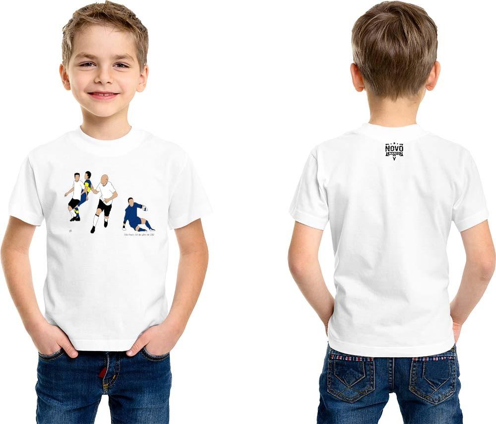 Camiseta Infantil Fim do Tabu...Invicto