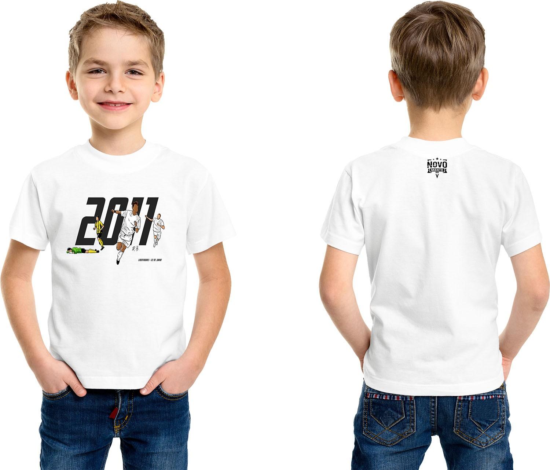 Camiseta Infantil Meninos da Vila e da América