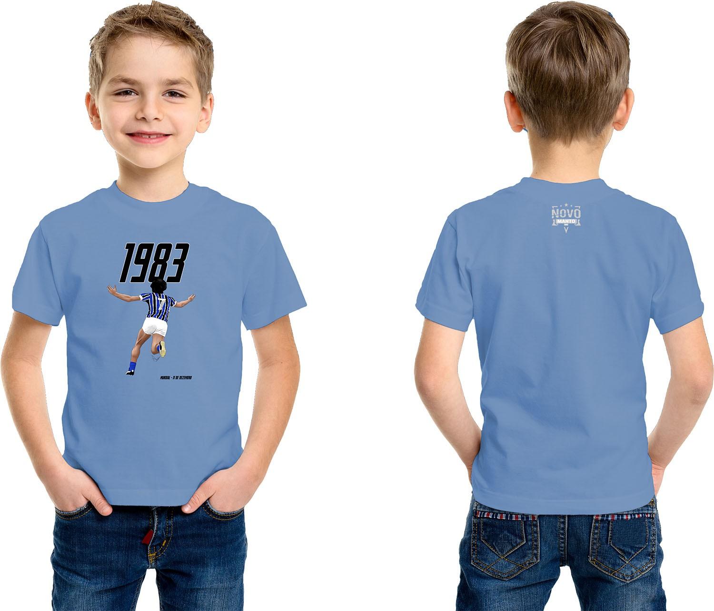 Camiseta Infantil Mundial Imortal