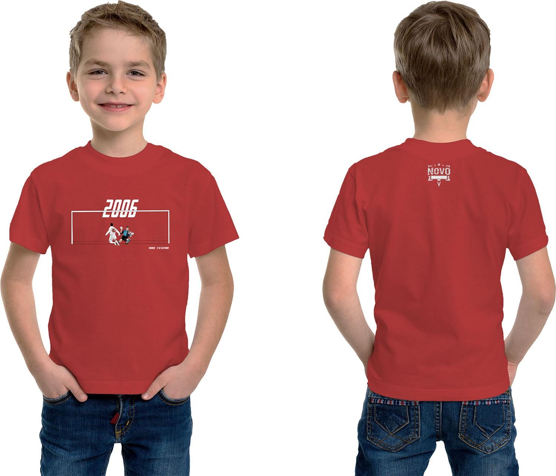 Camiseta Infantil Mundo Colorado