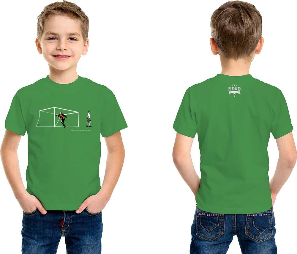 Camiseta Infantil Um novo Santo