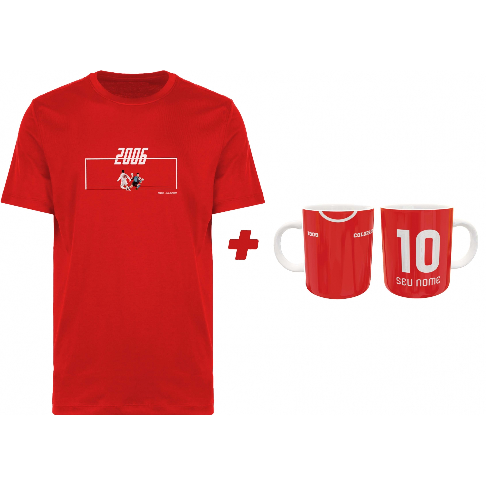 Kit Camiseta + Caneca Inter