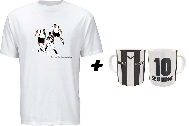 Kit Camiseta + Caneca Peixão