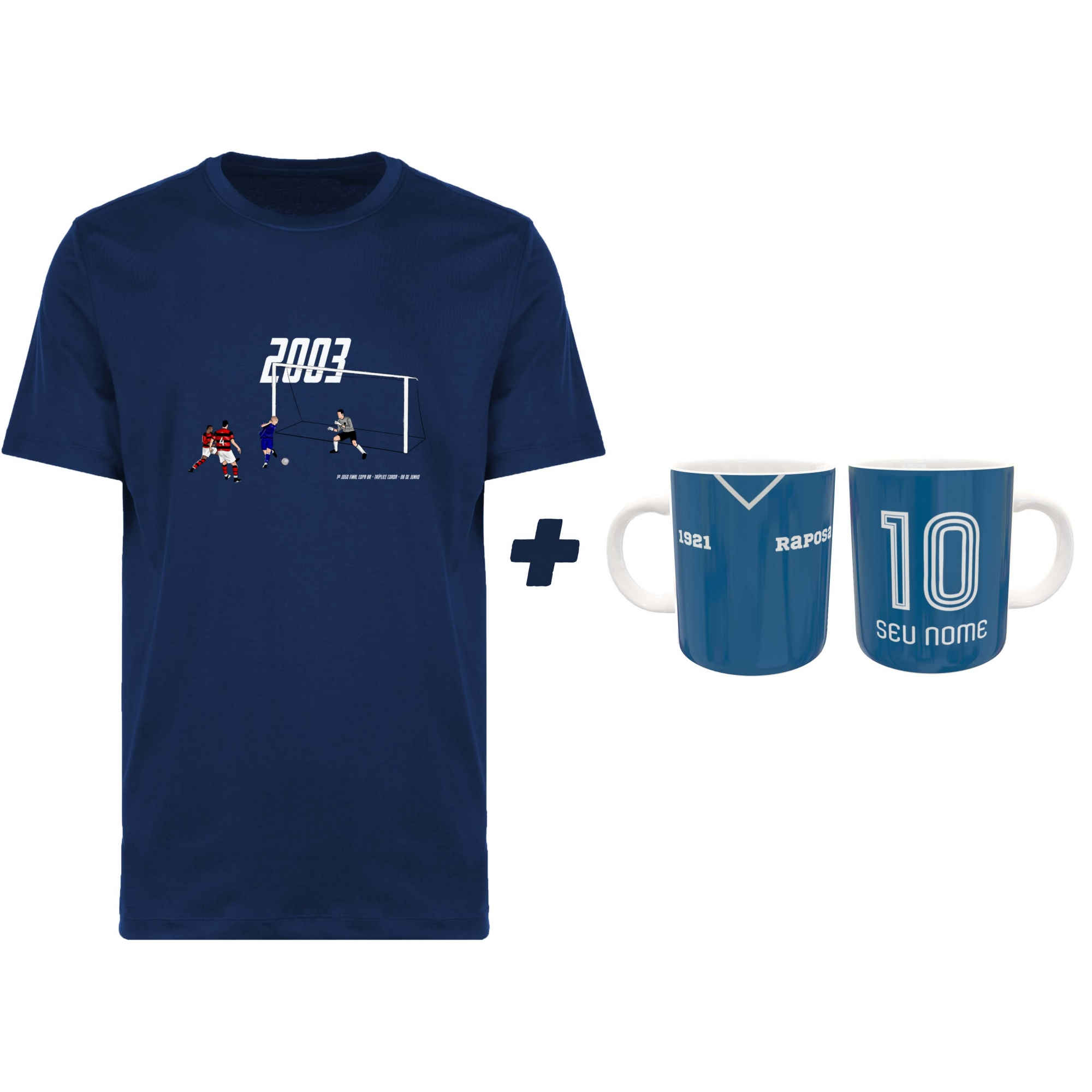 Kit Camiseta + Caneca Raposa