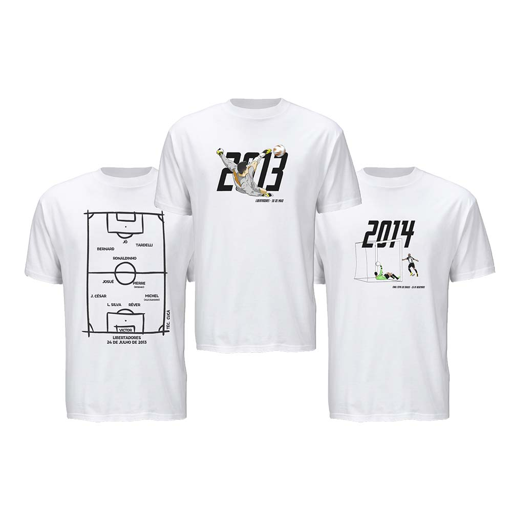 Kit Camisetas Galo