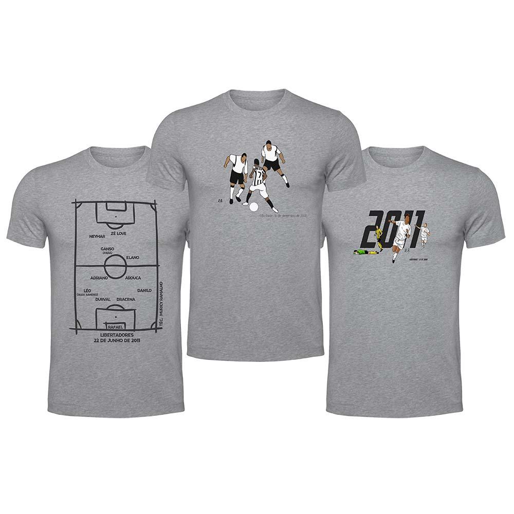 Kit Camisetas Peixe