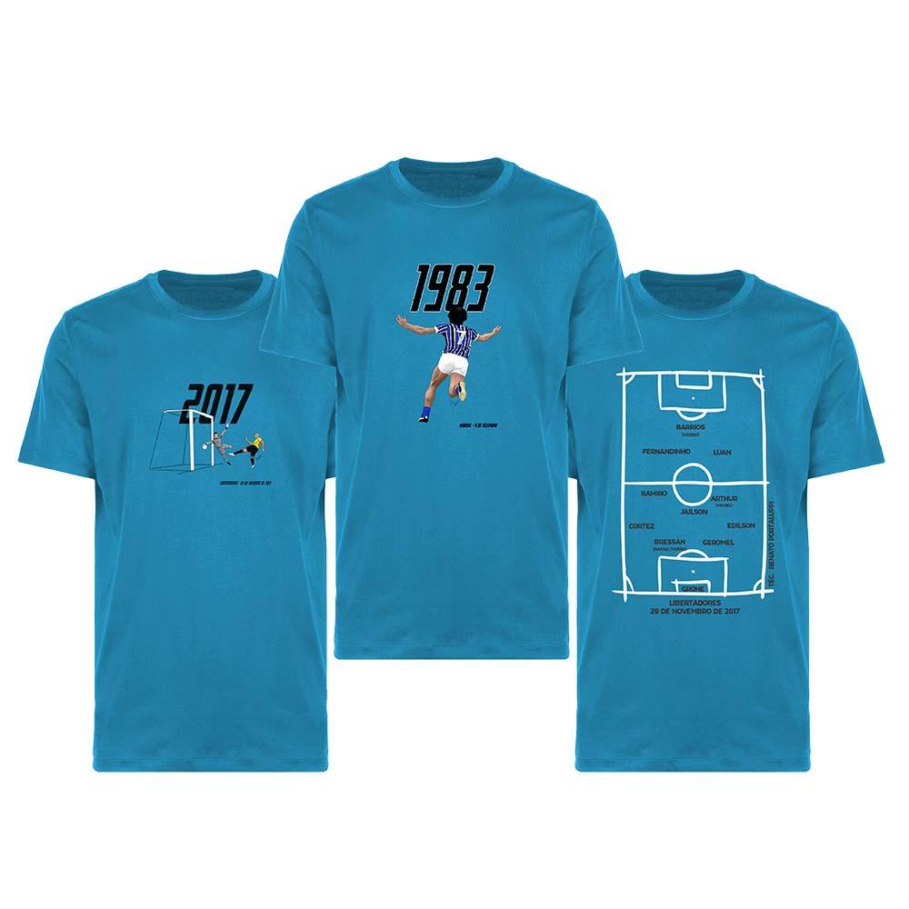 Kit Camisetas Tricolor Imortal