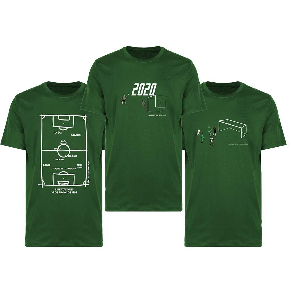 Kit Camisetas Verdão