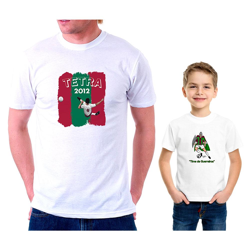 Kit Pai e Filho Tricolores
