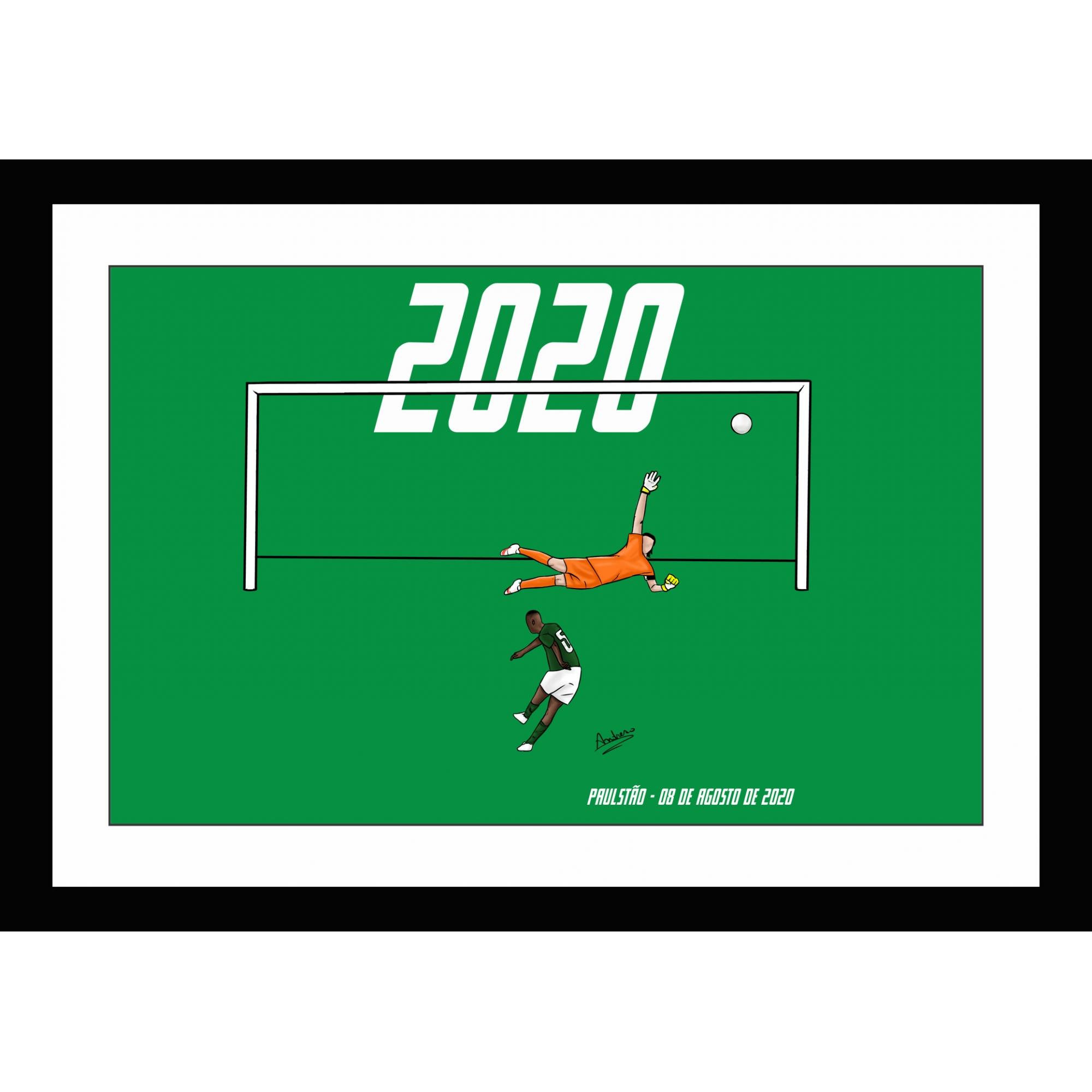 Quadro Dono do Derby Paulistão 2020