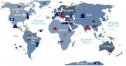 Adesivo Mapa Mundi Lúdico