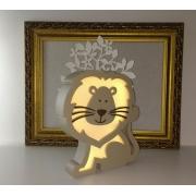 Luminária Infantil Leão