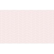 Tapete chevron rosa retangular
