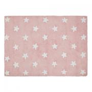 Tapete Lorena Canals Estrelas Rosa 120 X 160
