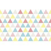 Tapete triângulos coloridos
