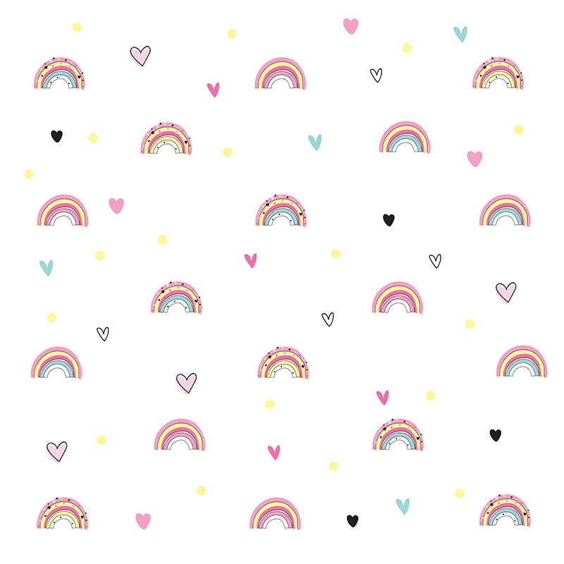 Adesivo de parede Infantil Arco Iris Candy