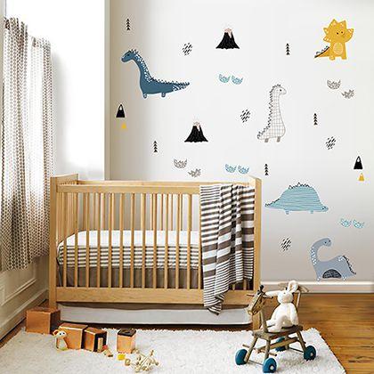 Adesivo de parede infantil Super Dinos
