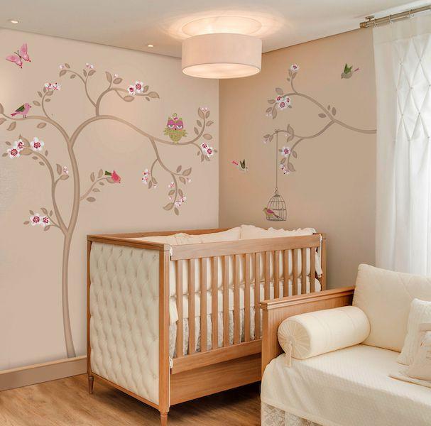 Adesivo de parede infantil Sweet Tree