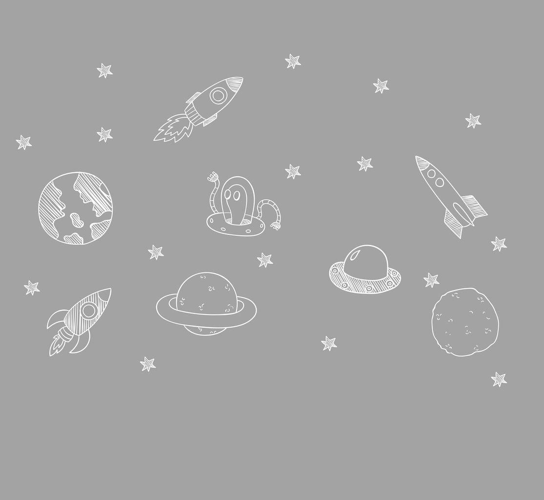 Adesivo Espaço Sideral