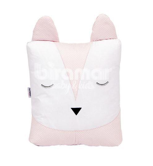 Almofada foxy - poa rosa
