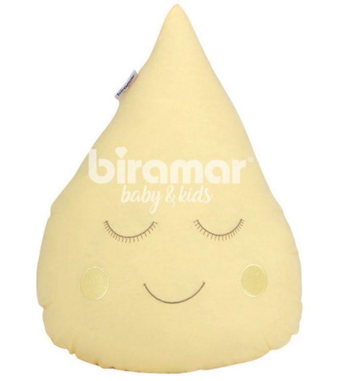 Almofada gotinha com carinha amarela - P