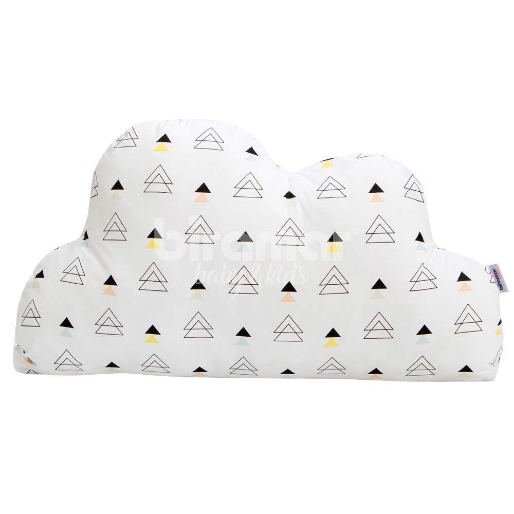 Almofada Nuvem New York Triângulo Colorido