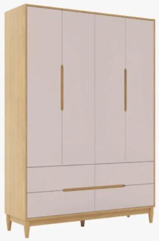 Armário Tomi 4 portas e 4 gavetas- Colorido