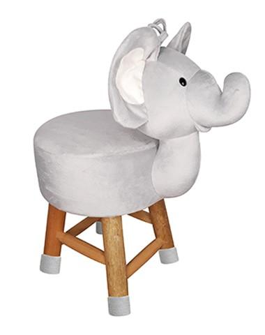 Banco de Pelúcia de Elefante