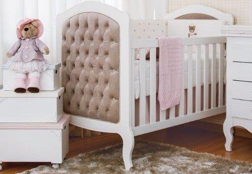 Berço Majestic Branco com mini-cama