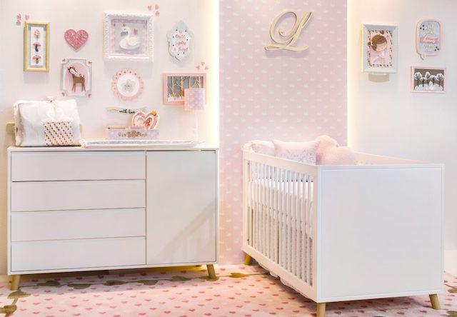 Berço Studio com mini cama