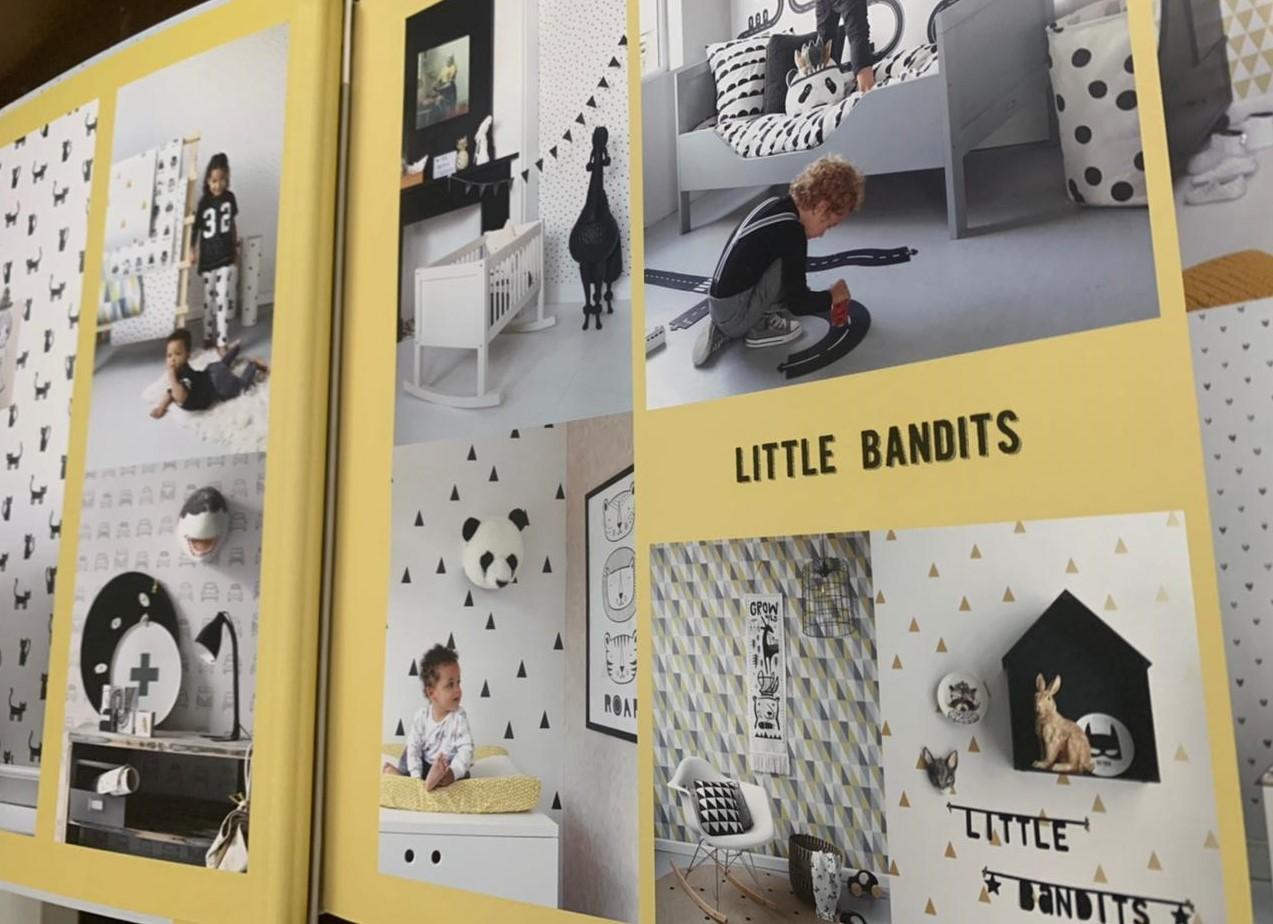 Catálogo Papéis de Parece Little Bandits