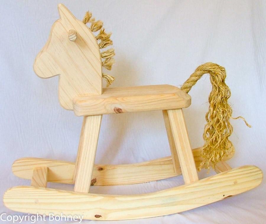 Cavalinho de Balanço Pequeno