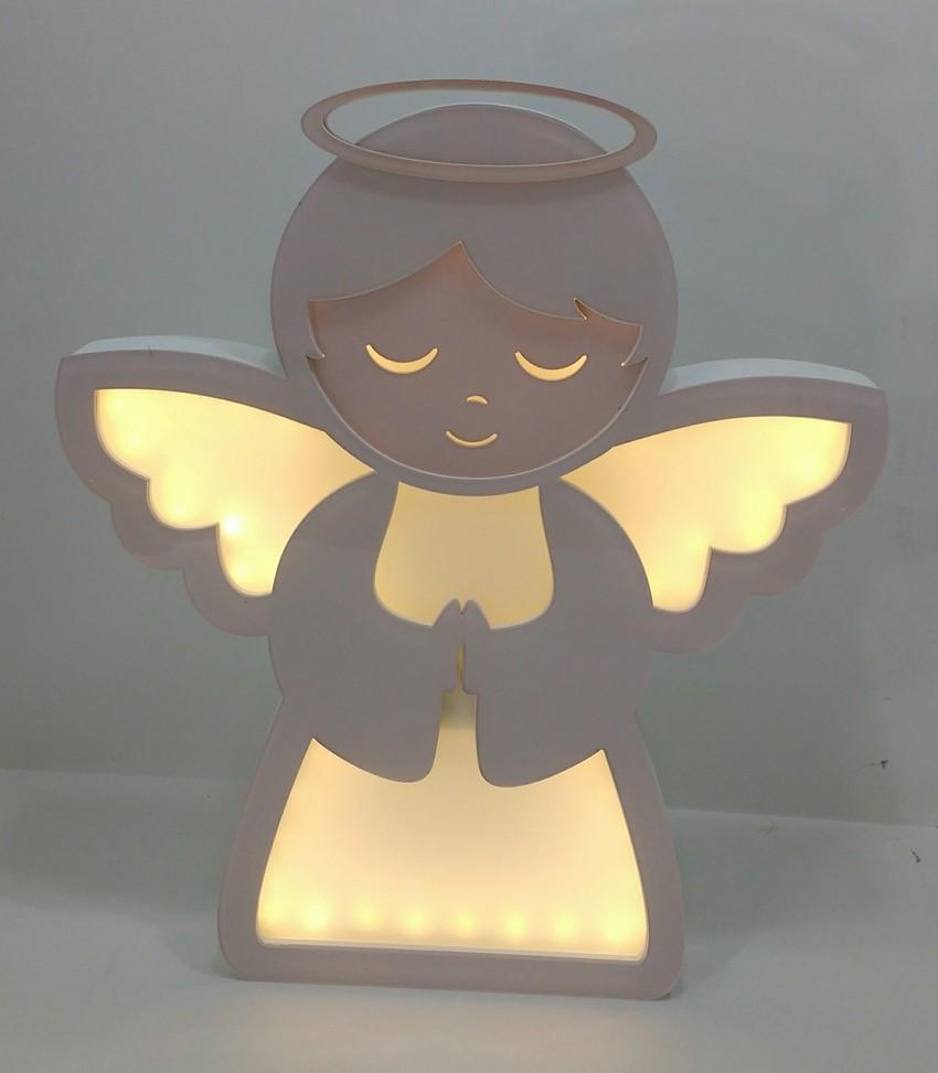 Luminária Infantil Anjinho Branca