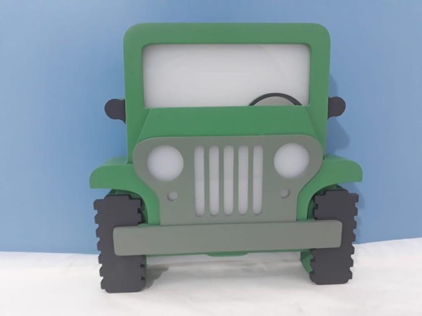 Luminária Infantil Jeep