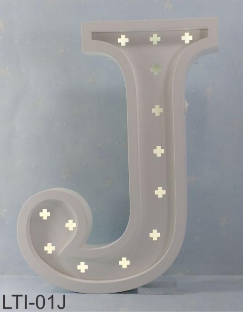 Luminária Infantil Letra