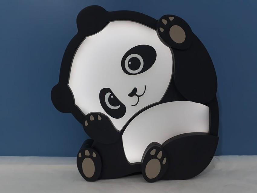 Luminária Infantil Panda