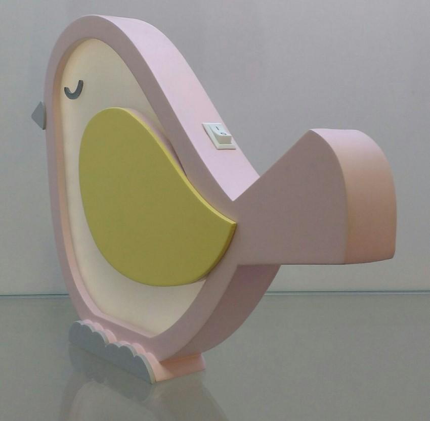 Luminária Infantil Passarinho