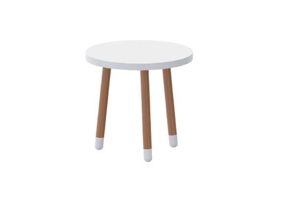 Mesa Joy Branco com Madeira