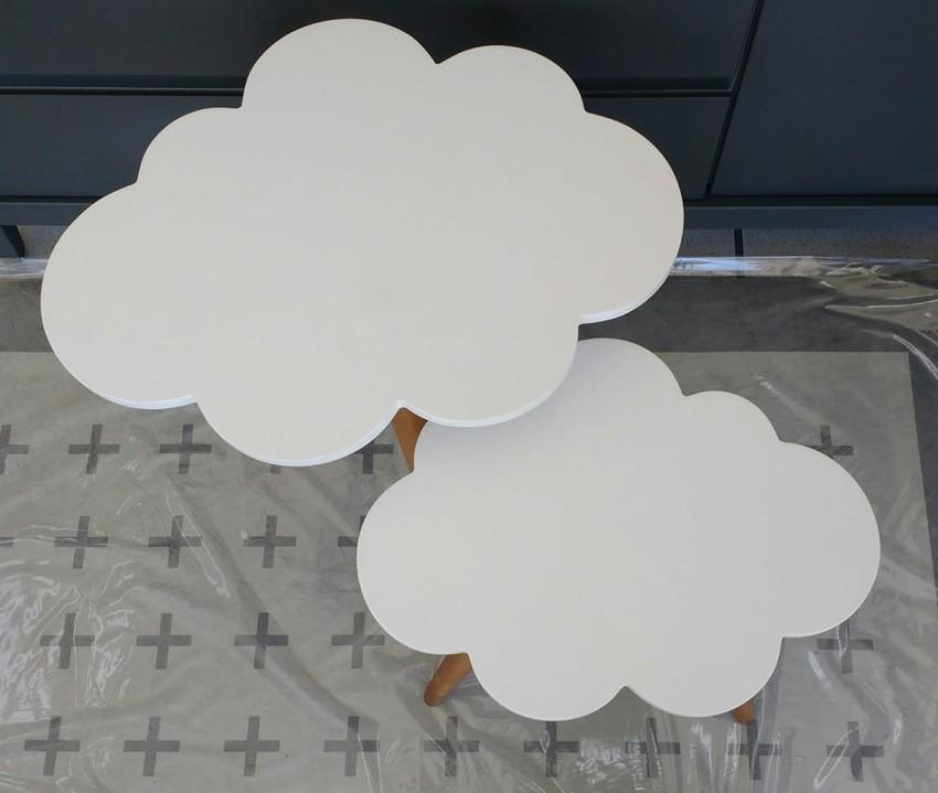 Mesinha Nuvem Grande Branca
