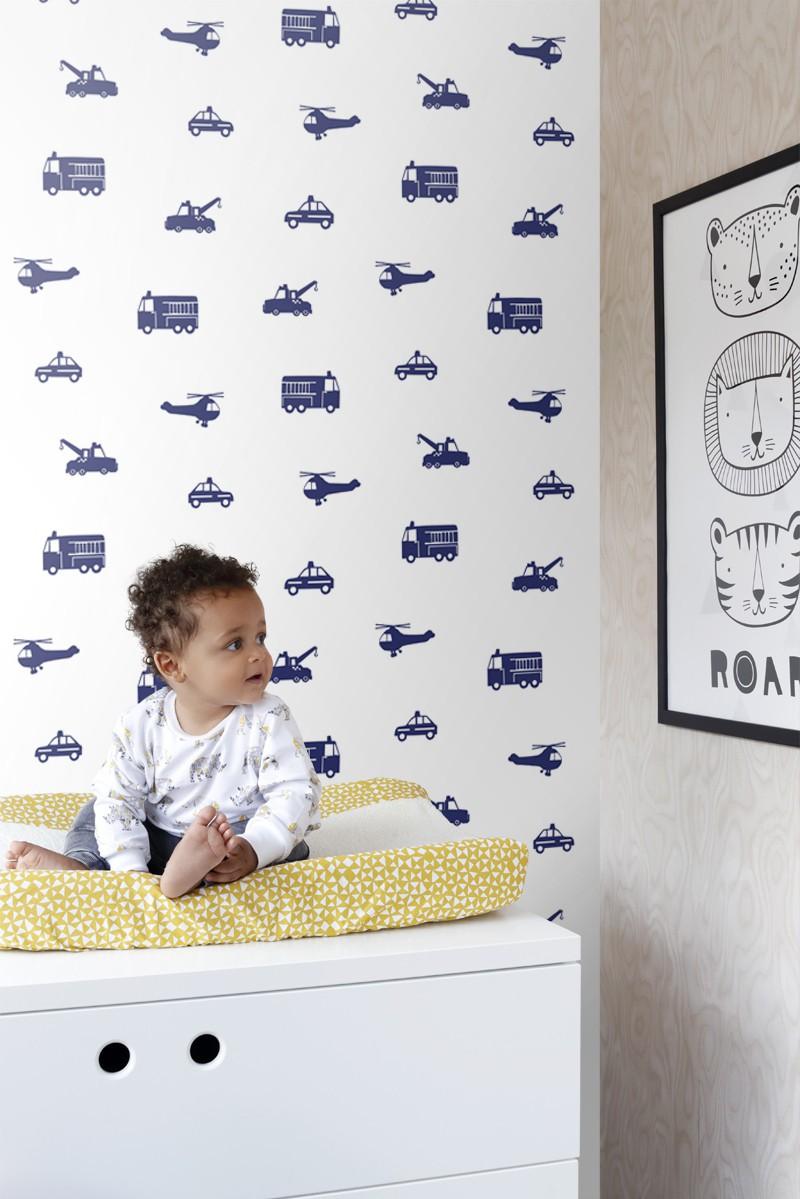 Papel de parede vinílico Little Bandits 137321