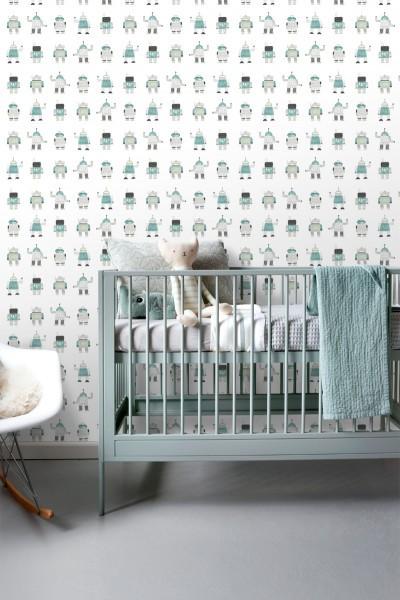 Papel de parede vinílico Little Bandits 138938