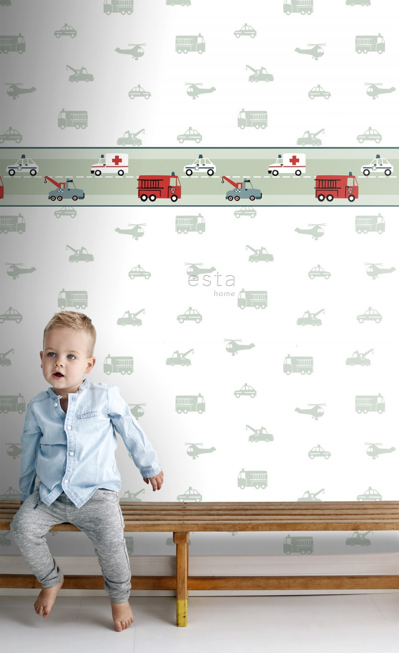 Papel de parede vinílico Little Bandits 178705