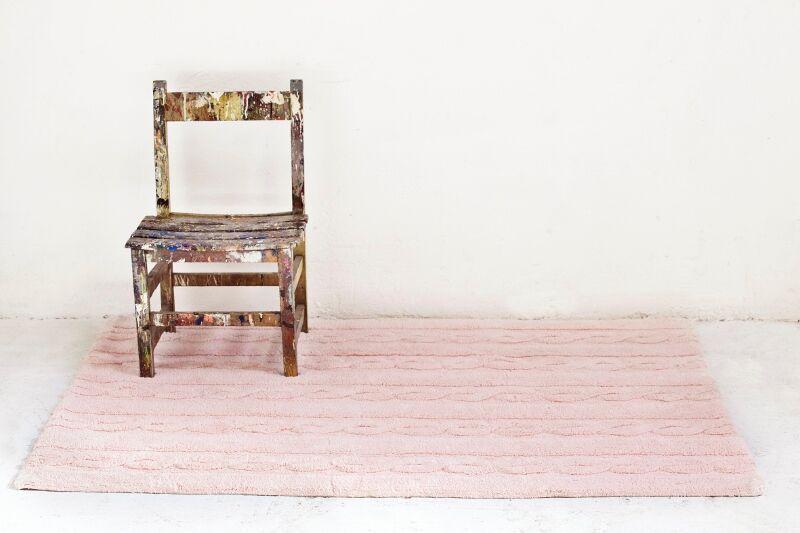 Tapete Lorena Canals Trança Rosa Soft 120 X 160